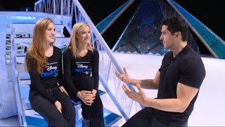 'Frozen's' Next Chapter: Anna, Elsa Take to the Ice