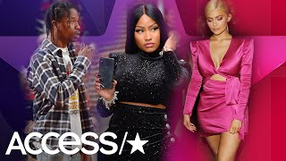 Kylie Jenner & Travis Scott's Seats Moved Away From Nicki Minaj At The 2018 VMAs