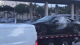 Rapper XXXTentacion's car is taken away by police