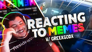 Greekgodx Reacts To The Top Memes