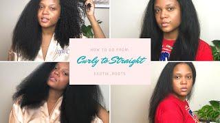 My #StraightHair routine! - Exotik_roots