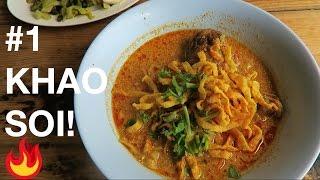 Best Khao Soi in Chiang Mai?🔥🍜 Kowsoy Maesai Thai food restaurant Chiangmai Thailand! // #FIRE