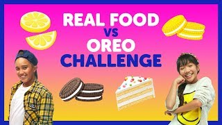 Real Food vs. Oreo Challenge with The KIDZ BOP Kids