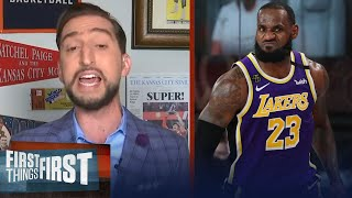 Nick on LeBron's win over Blazers in GM 3, playoff mode already activated | NBA | FIRST THINGS FIRST