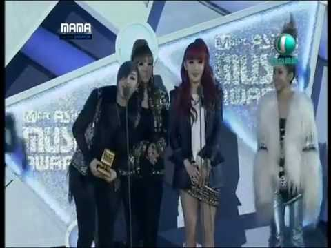 2NE1 LONELY & I AM THE BEST @ MAMA 2011 MNET ASIAN MUSIC AWARDS SINGAPORE
