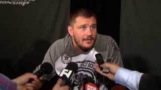 UFC 165: Matt Mitrione Pre-Fight Scrum - Flattered By Big Nog Calling Him Out