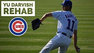 Yu Darvish: South Bend Rehab Highlights 6/25/18