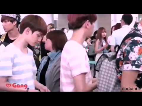 Tom and Jerry level EXO D.O AND BAEKHYUN