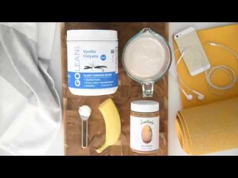 GOLEAN Vanilla Vinyasa Protein Smoothie