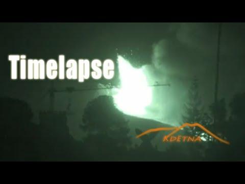 Etna -timelapse parossismo 19 luglio 2011 - kdetna