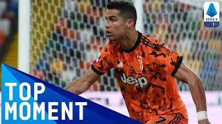 Cristiano Ronaldo Scores Last-Gasp Winner! | Udinese 1-2 Juventus | Top Moment | Serie A TIM