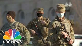 Heightened Security In Washington Ahead Of Inauguration | NBC Nightly News
