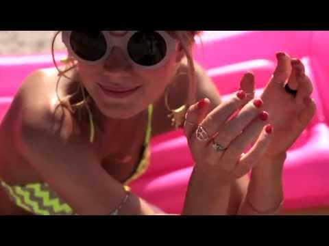 Seafolly Campaign 2013/14 featuring Camille Rowe