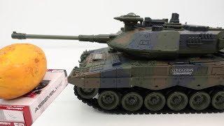 Xe tăng đồ chơi hạng nặng bắn đạn bi và phun khói - Tank for Kids