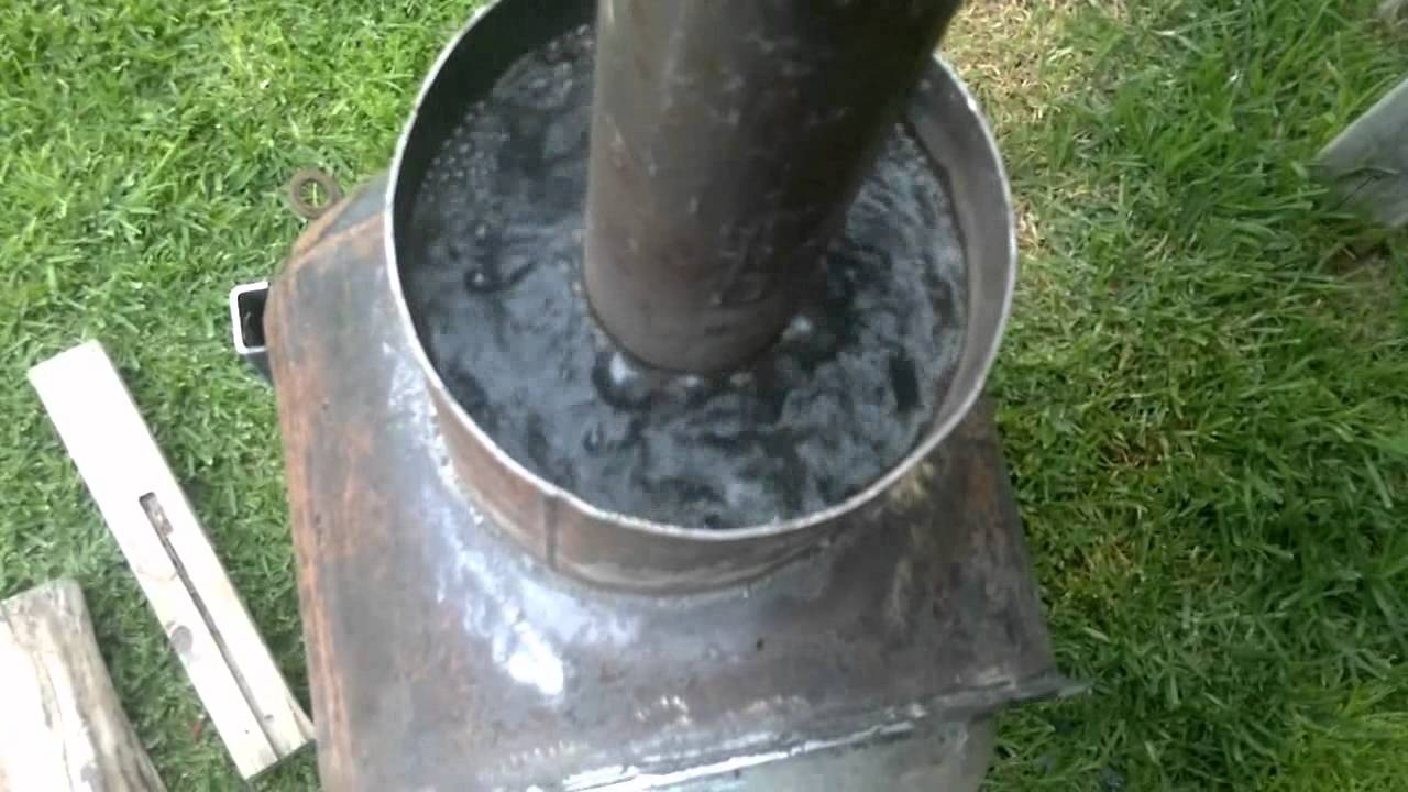 Wood Fired Spa Heater Youtube