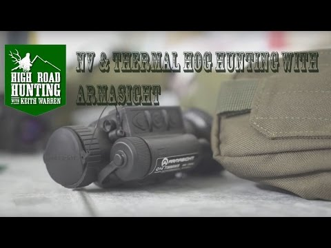 NV & Thermal Hog Hunting with Armasight