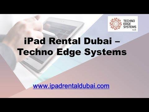 iPad Rental Dubai - Techno Edge Systems L.L.C