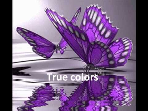 True Colors w/ lyrics - Cyndi Lauper