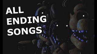 FNaF ALL Ending Songs (Full Series)