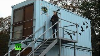 Британцы переселяются в грузовые контейнеры
