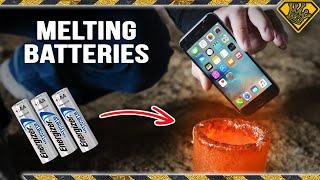 Melting Batteries in Liquid Metal
