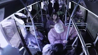 Elderly man dies after being pushed from bus
