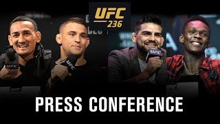 UFC 236: Holloway vs. Poirier 2 Press Conference