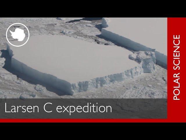 南極拉森C冰棚斷裂後續 英國科學家啟程揭密