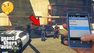 GTA 5 - I Called The Police on NIKO BELLIC'S GHOST Car and This Happened