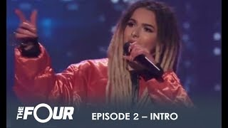 'The Four' EPIC Intro To Second Show! | S1E2 | The Four