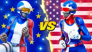 EUROPE vs NORTH AMERICA (Best Region)