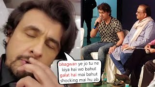 Sonu Nigam became very emotional while remembering SP Bala..