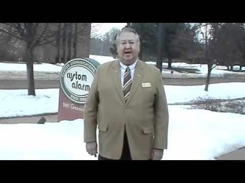 Custom Alarm Security Rochester Minnesota Mayor Brede