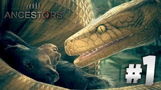 Everything wants to KILL ME!?! - ANCESTORS THE HUMANKIND ODYSSEY   Gameplay HD