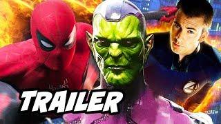 Spider-Man Far From Home Trailer - Avengers Tower Scene Easter Egg Breakdown