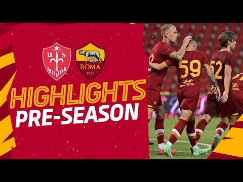 VIDEO - Le azioni salienti di Triestina-Roma 0-1