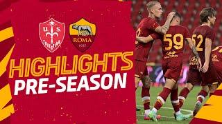 ZALEWSKI!   TRIESTINA 0-1 ROMA   HIGHLIGHTS