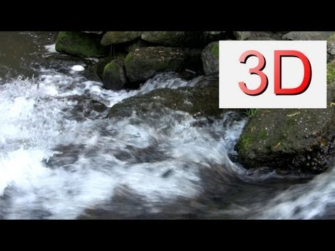 3D Video: Waterfall Relaxation #5