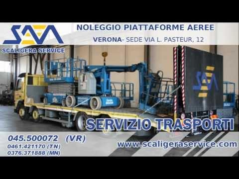 Scaligera Service - noleggio piattaforme aeree Verona Mantova Trento