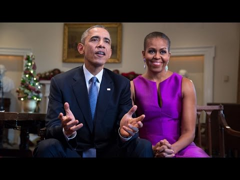 Weekly Address: Happy Holidays from the President and First Lady