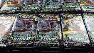 Opening Pokemon Cards - 1,000 Celestial Storm Pokemon Booster Packs!