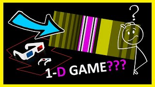 I Made a 1D Game 🎮