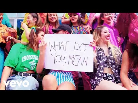 Justin Bieber - What Do You Mean? (PURPOSE : The Movement)