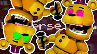 FIXED PARTY HARD MODE!! | FNAF World #9