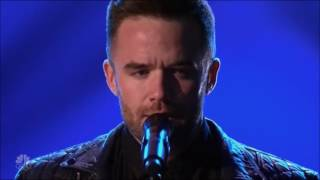 Gay Singer Brian Justin Crum VERY EMOTIONAL! Judge Cuts 3   America's Got Talent 2016   Ep. 10
