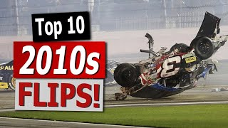 NASCAR: Top 10 Flips of the 2010s