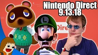 Nintendo Direct 9.13.18 - REACTIONS & THOUGHTS
