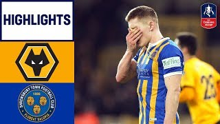 Wolves Come from Behind to Win! | Wolves 3-2 Shrewsbury | Emirates FA Cup 18/19