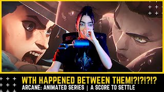Dinka Kay REACTS - Arcane: Animated Series | A Score To Settle
