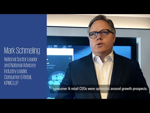 Mark Schmeling, national leader of KPMG's Consumer & Retail practice, shares his insights on the future of the C&R industry from the 2019 CEO Outlook survey. Visit www.kpmg.com/us/ceooutlook for more.